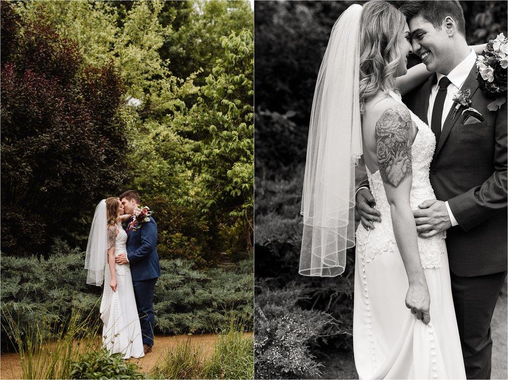 Romantic Garden Wedding in Oklahoma City at Myriad Gardens