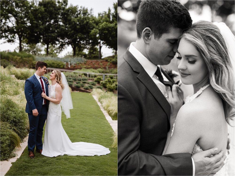 Oklahoma City Wedding Photography Myriad Gardens