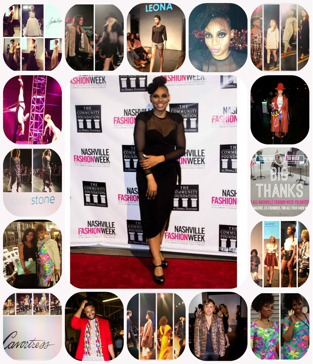 Nashville Fashion week Collage