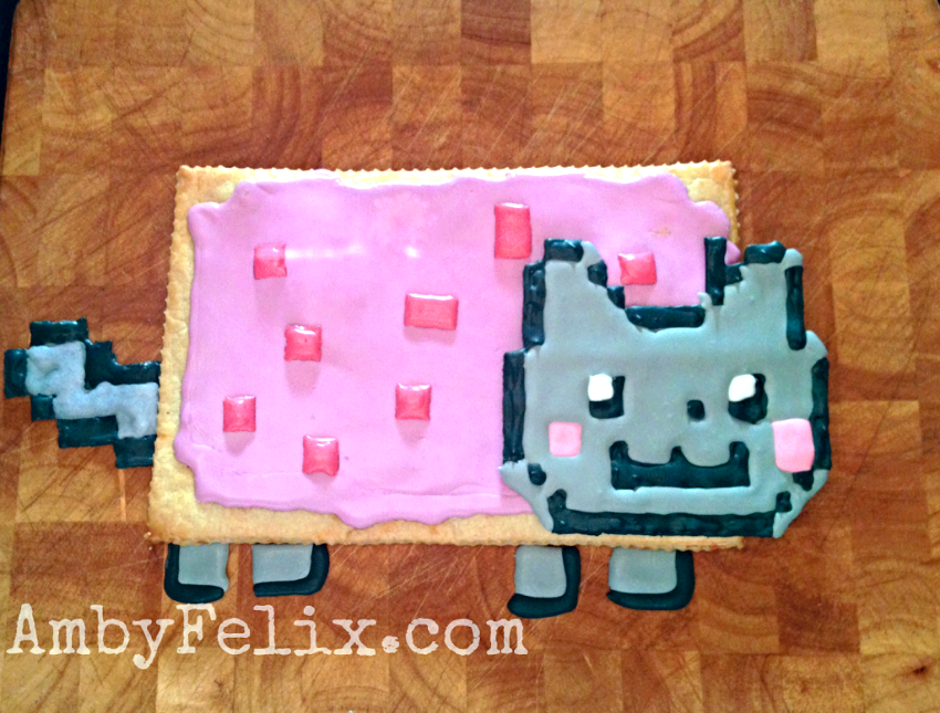 Nyan Cat Pop Tart  AmbyFelix.com