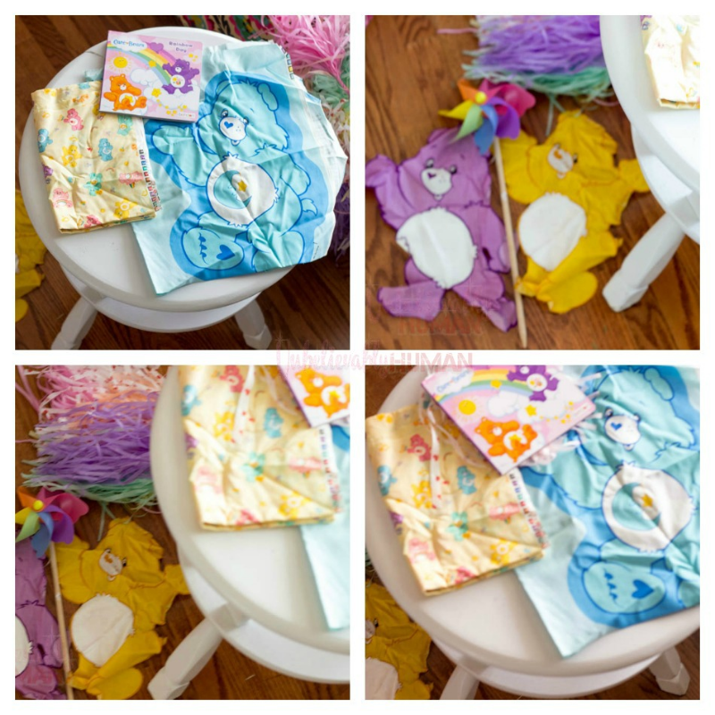 My Inspiration for this DIY: Care Bears, Pastels, and my Pinwheel