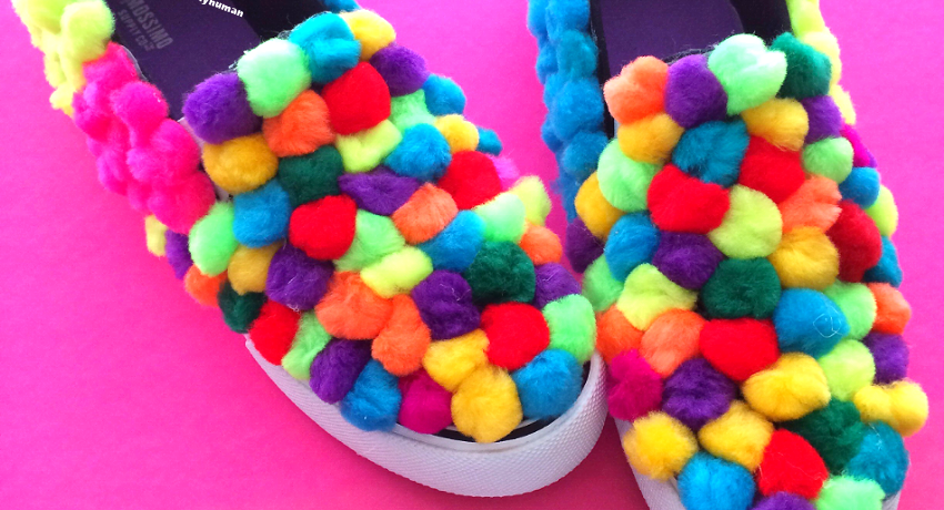 My life in DIY Pom Poms