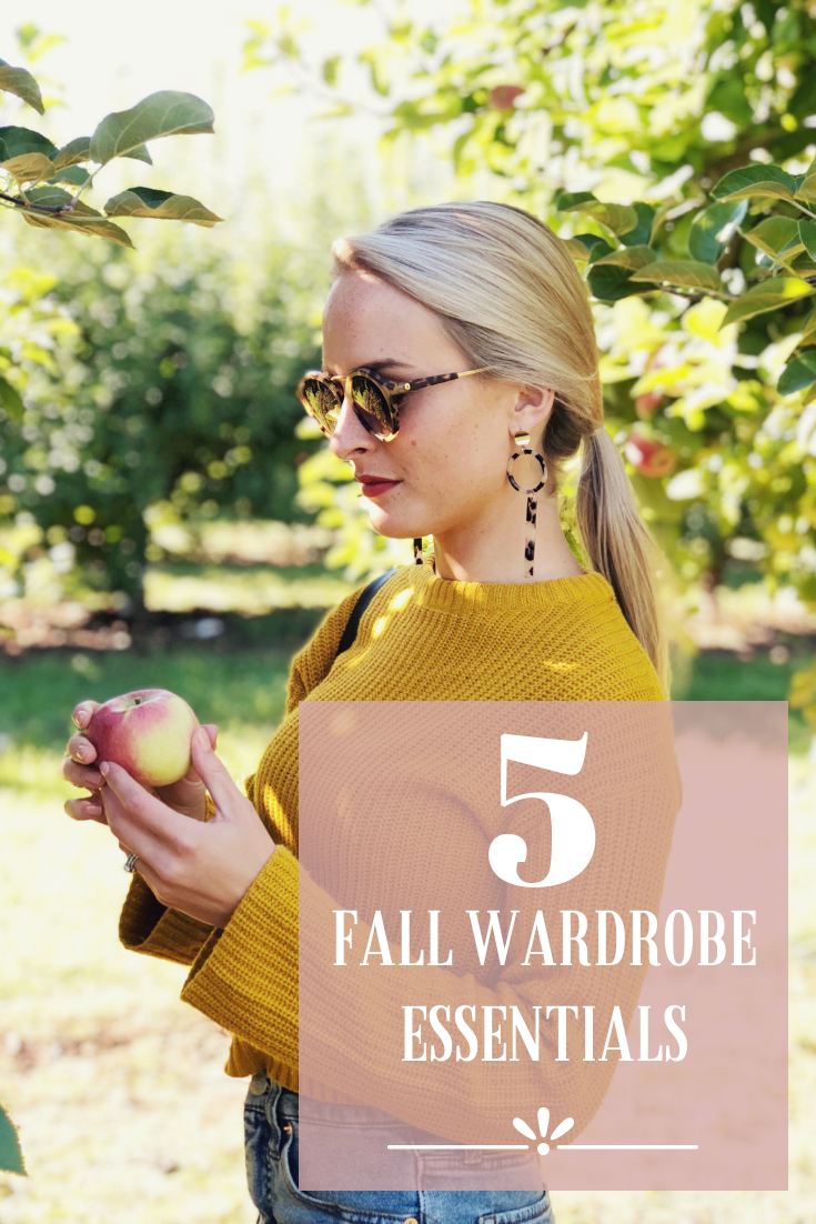 5 Fall Wardrobe Essentials by Rachel Keppeler Designs