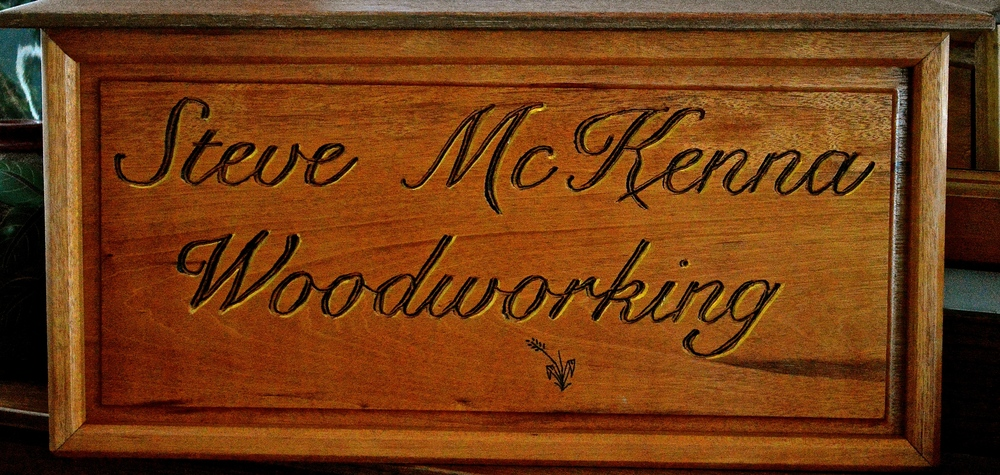 mahogany sign