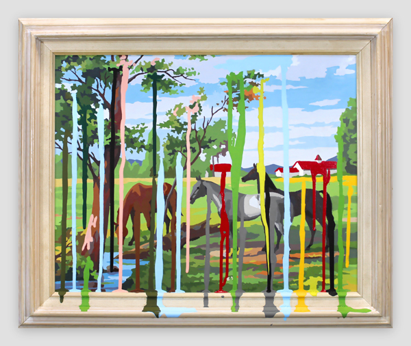 Thrift-Store-Painting-Of-Horses---paint-on-found-painting-and-frame---2011---20,5-x-24,5-x-1,5---012.jpg