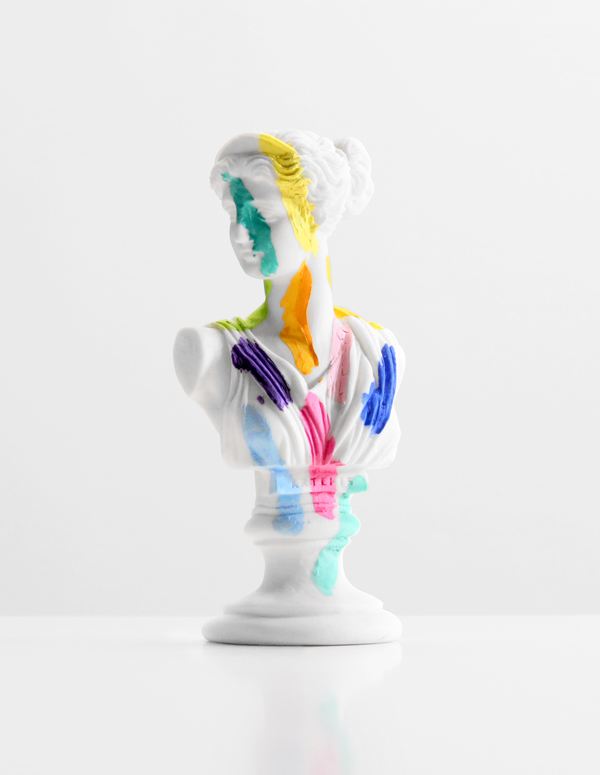 A-Grecian-Bust-With-Color-Tests---paint-on-found-sculpture---2013---7-x-3-x-2,5---008.jpg