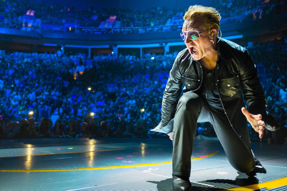 Bono 2015, U2 Innocence & Experience Tour, Vancouver BC