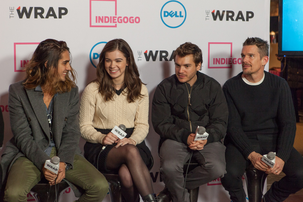 Sundance Indiegogo Lounge at Park City Live. January 23, 2015