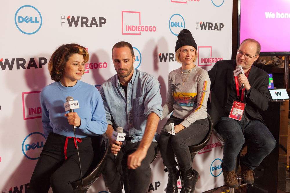 Sundance Indiegogo Lounge. January, 2015