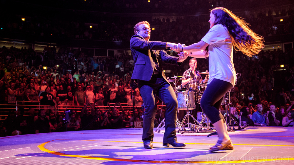 Spinning with Bono