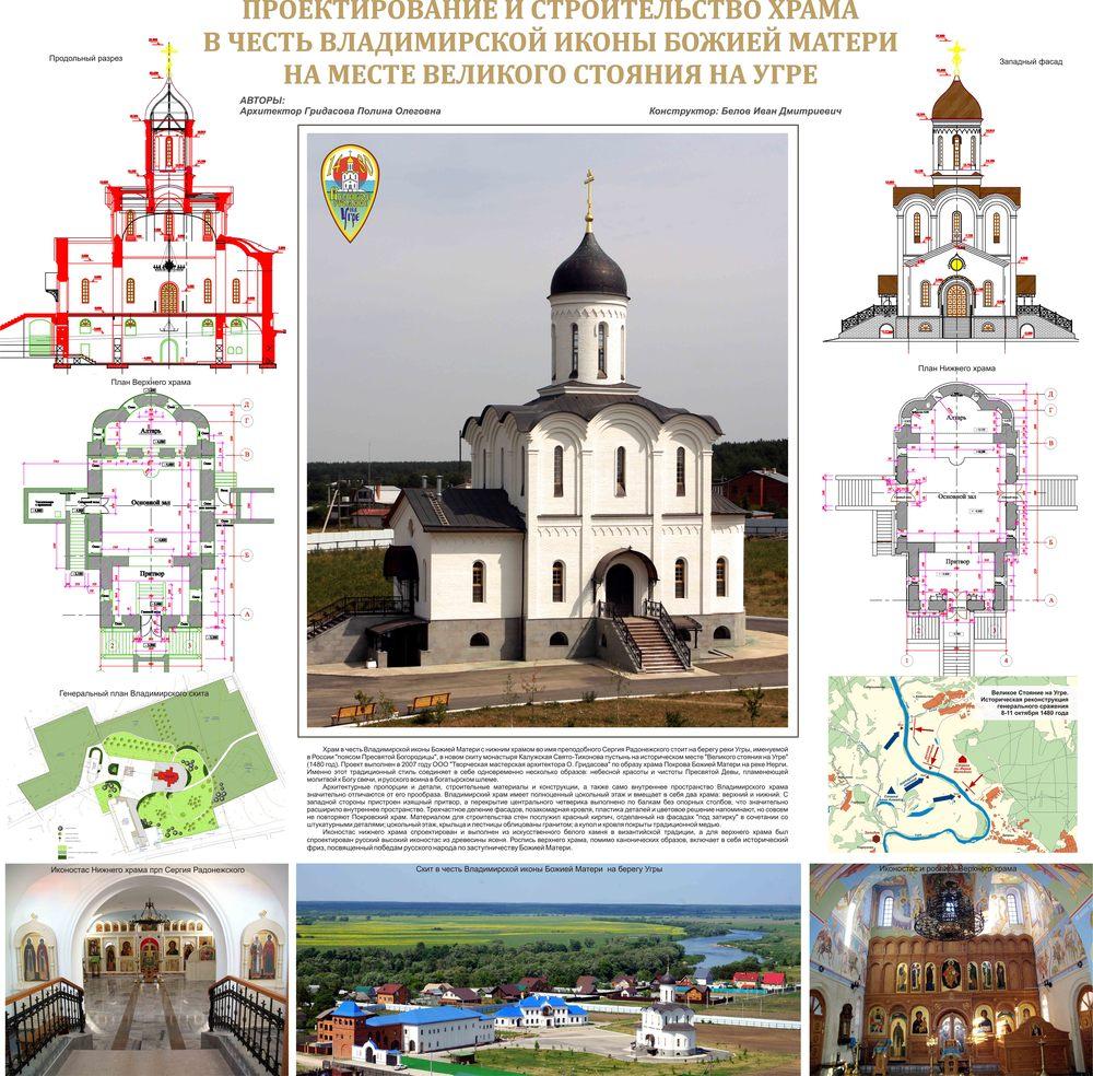 Гридасова Полина   Подрамник Владимирский храм.jpg