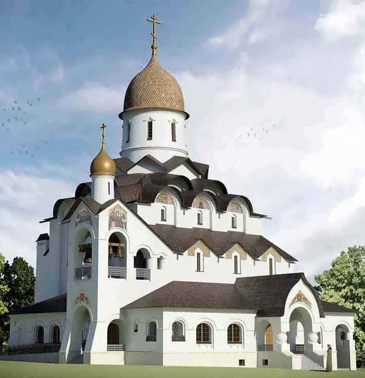 храм святого благоверного князя Александра Невского при МГИМО, 2012-2015
