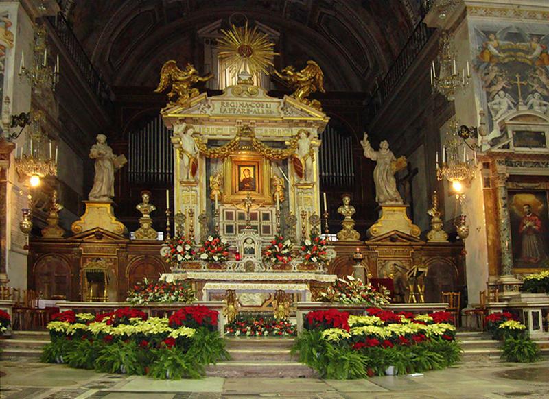 алтарь базилики Санта Мария Маджоре