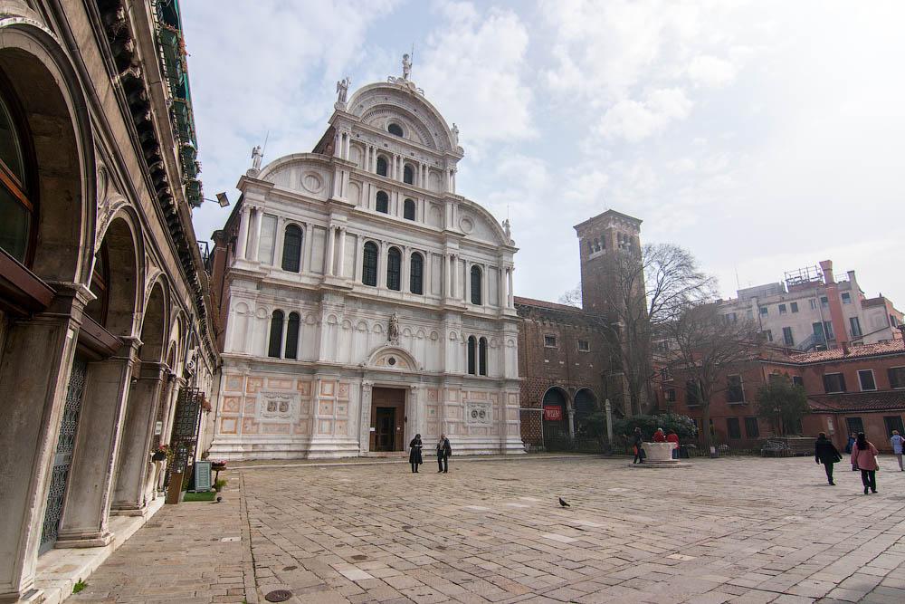 церковь святого праведного пророка Захарии в Венеции