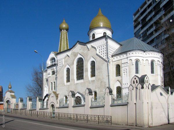 Старообрядческая Покровско-Успенская церковь в Малом Гавриковом переулке. Фото: temples.ru