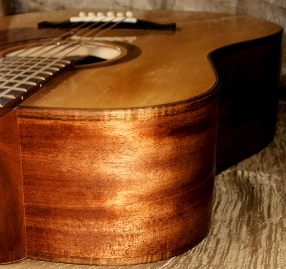 Hawkins Dreadnought Guitar Koa Binding
