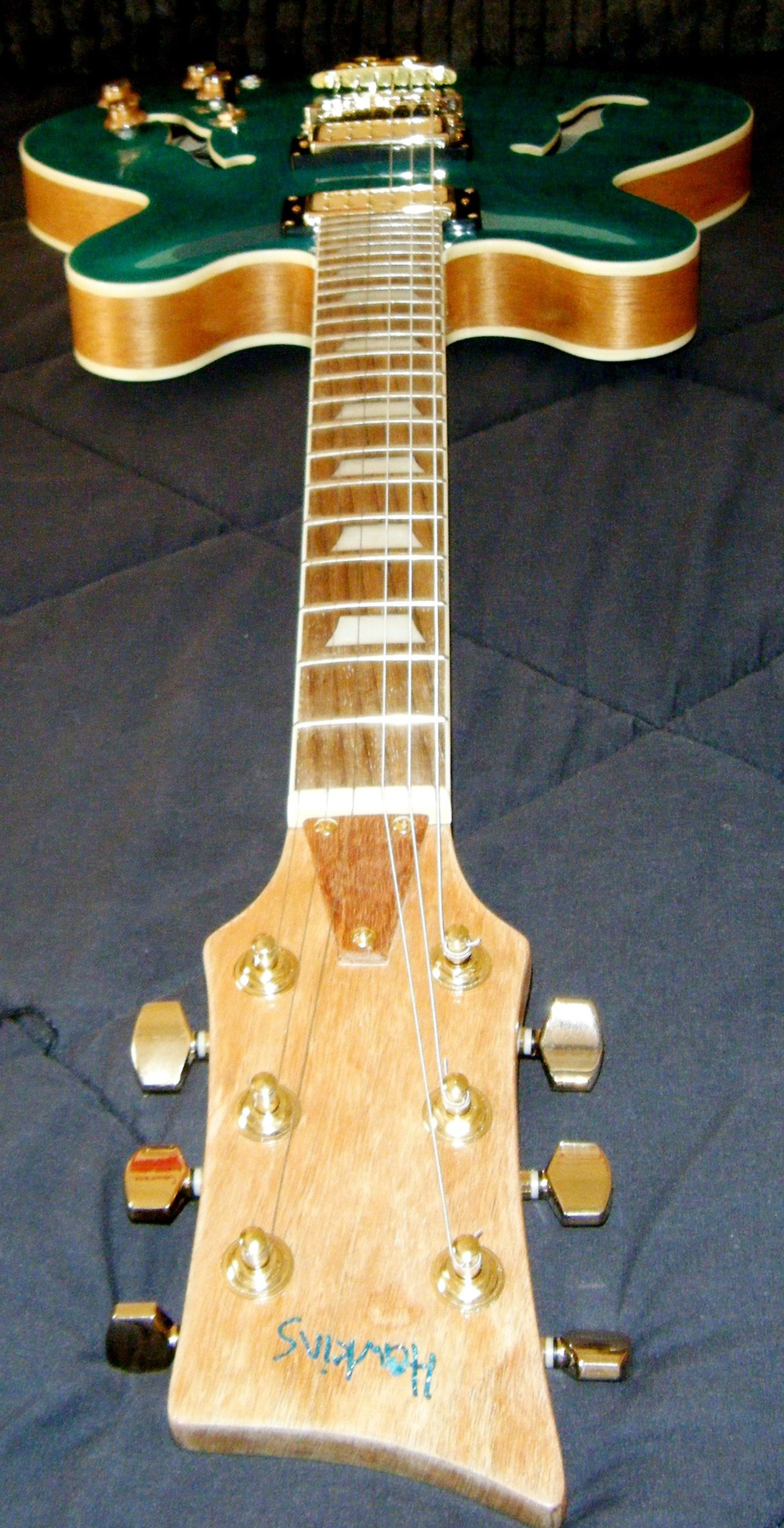 Hawkins Electric Guitar Binding