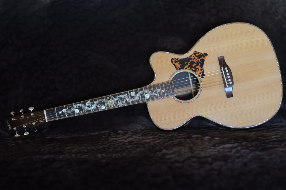 Hawkins Guitar Front