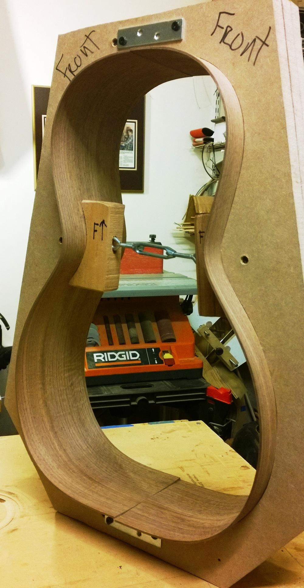 Hawkins Parlor GuitarSide Mold