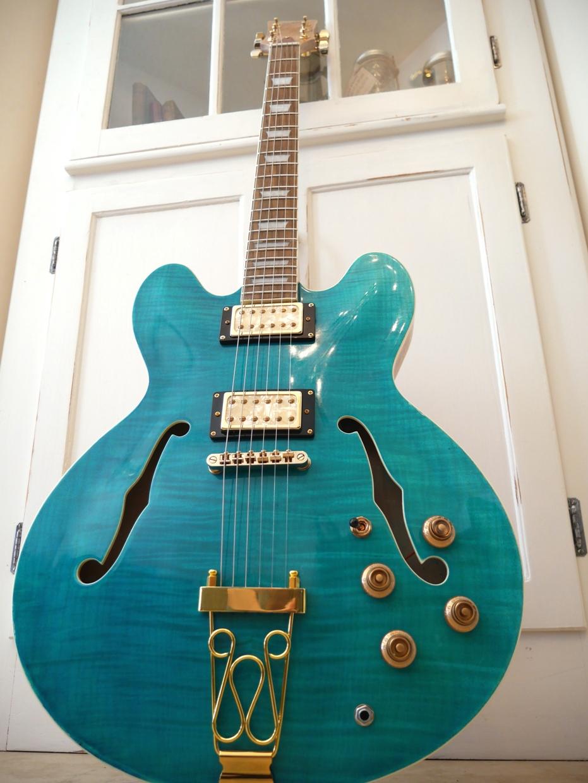 Hawkins Hollow Body Guitar HB35