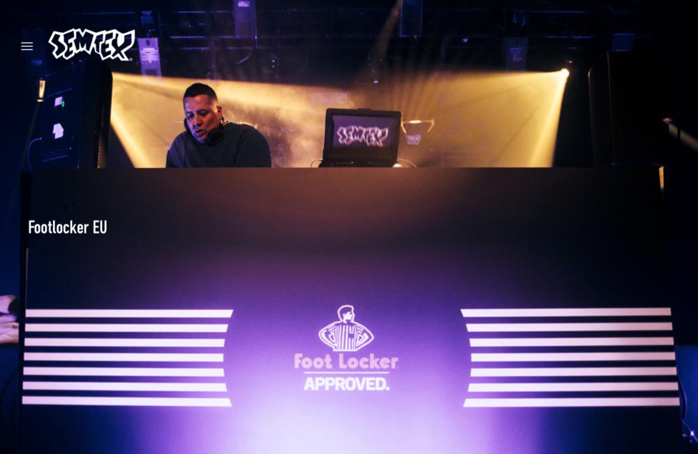 Footlocker EU Launch DJ & Host