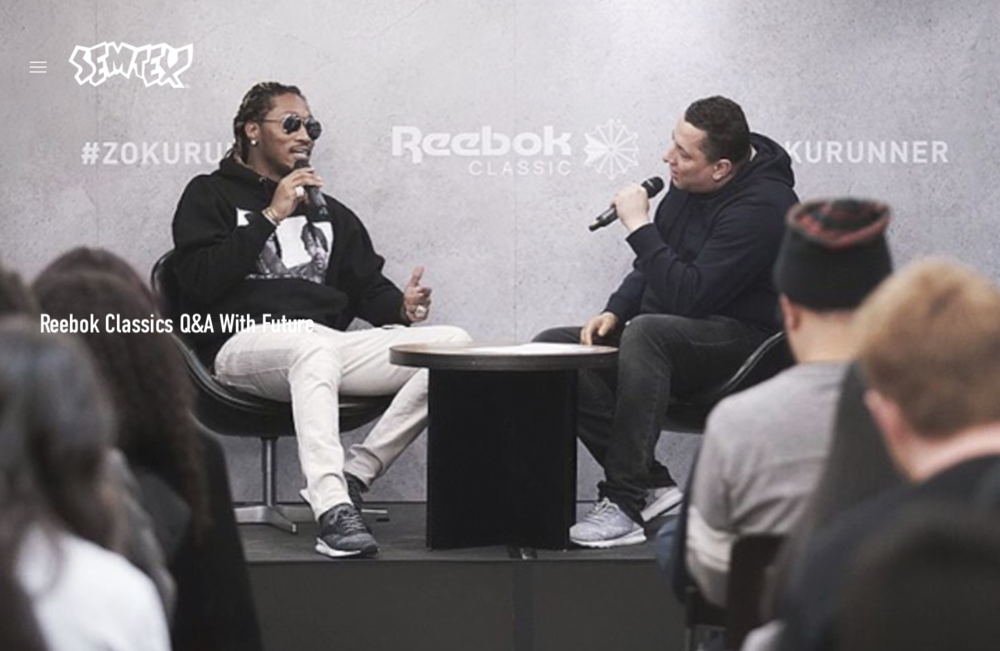 Reebok Classics Q&A With Future