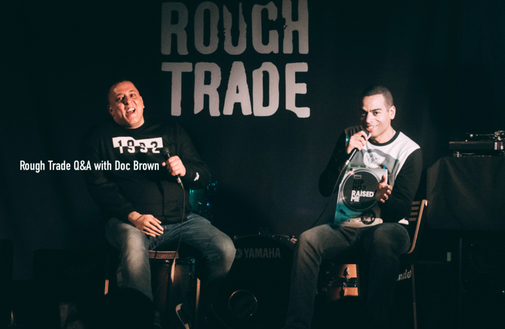 Q&A With Doc Brown At Rough Trade