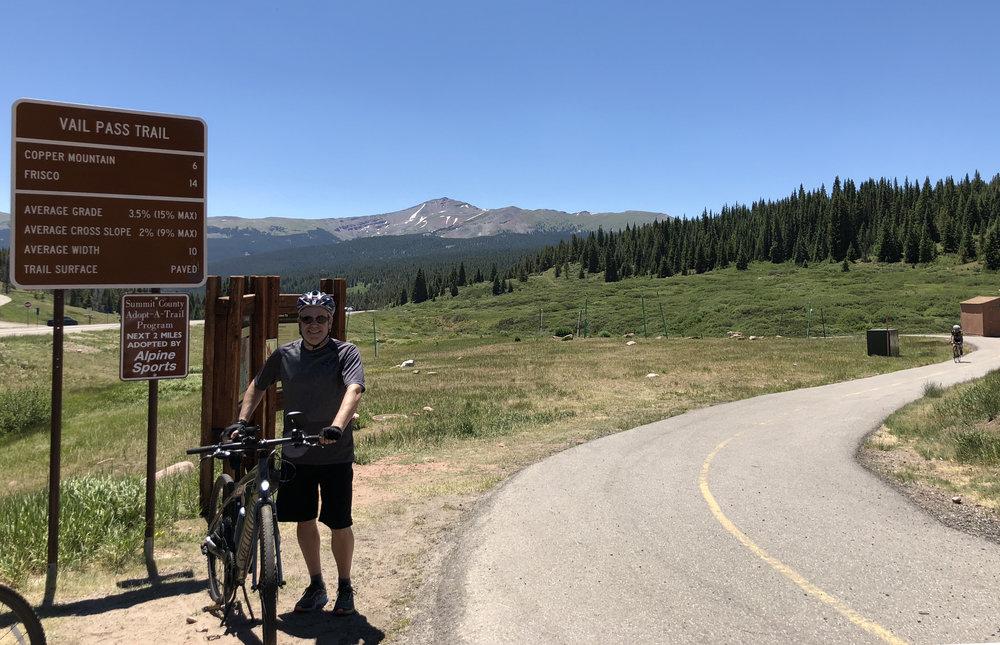 At Vail Pass