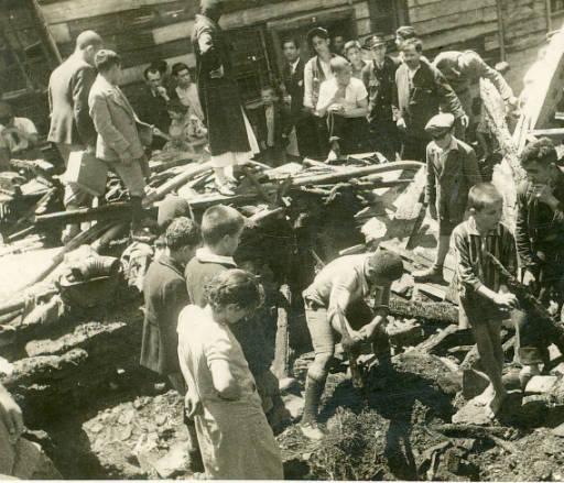 fotoğraf: 1929 Tahtakale Yangını, Ankara (kaynak: VEKAM)