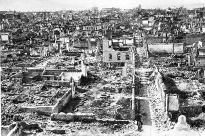 fotoğraf: 1922 İzmir Yangını.