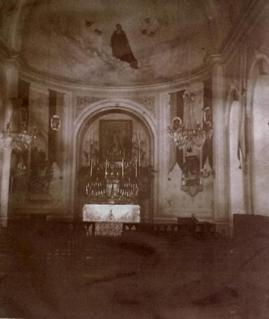 1913 yılında okulun şapeli