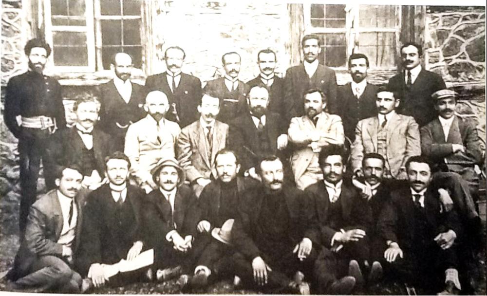 Erzurum Taşnak Partisi Yöneticileri sekizinci kongre 1914.jpg