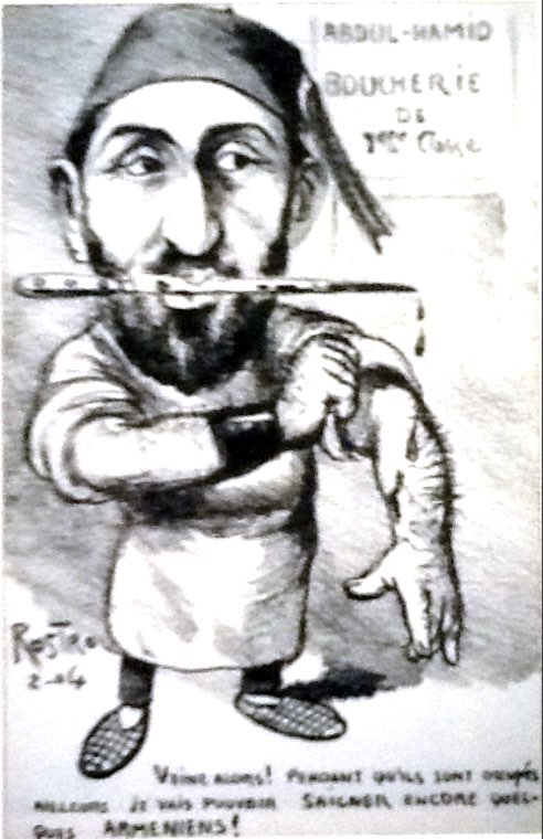 Rostro'nun kaleminden abdülhamid Karikatürü.jpg