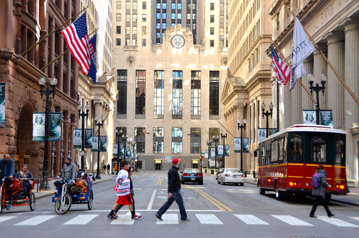 chicago financial street