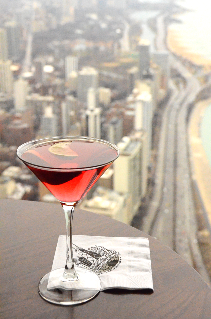 chicago signature room martini