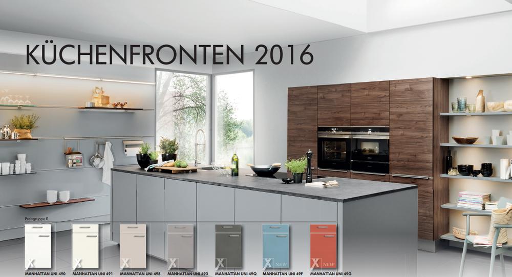 Выбор фасадов 2016