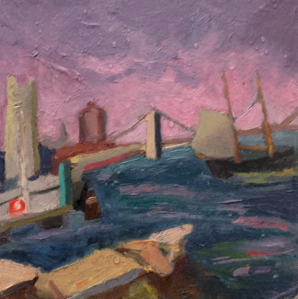 Stormy Day - Brooklyn Bridge