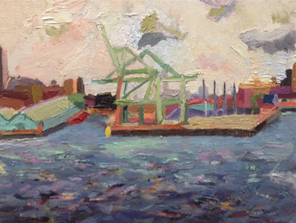 Cranes at Buttermilk Channel