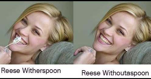"""Spooning is where I found myself when I was lost. It's the core of the actress I am today..."" -Reese Withoutherspoon (known now as Reese Witherspoon ) #spooning #findyourgreatness #findyourname #acaibowl #healthyfood #actress #reesewitherspoon"