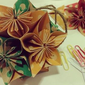 Origami flower kusudama hanabana origami flower kusudama mightylinksfo