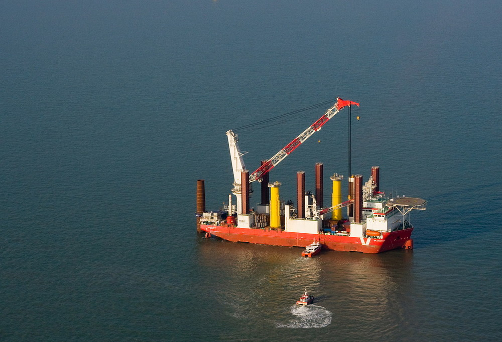 Wind Farm Construction Vessel