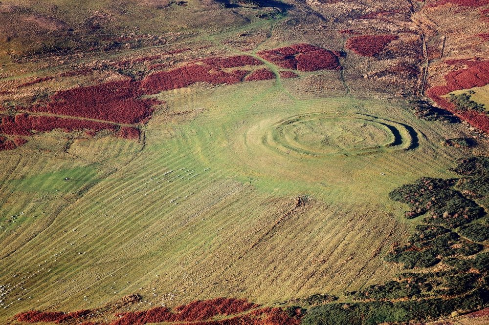 Hill Fort, Scottish Borders