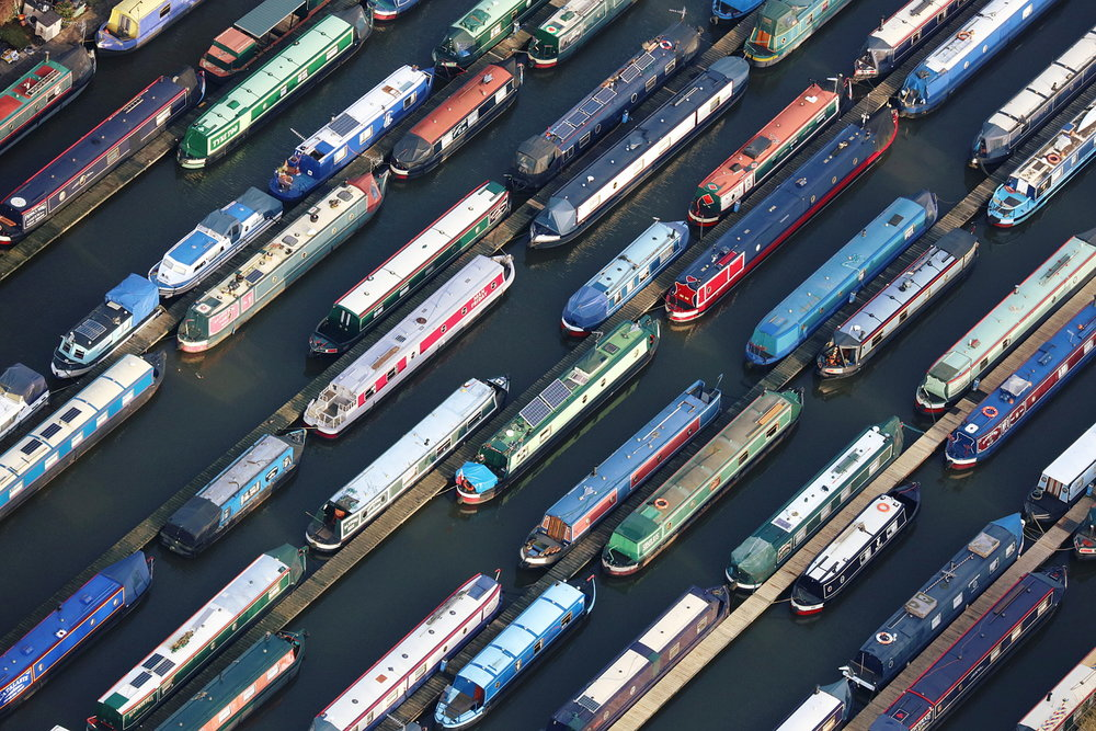 Narrow Boats, Midlands