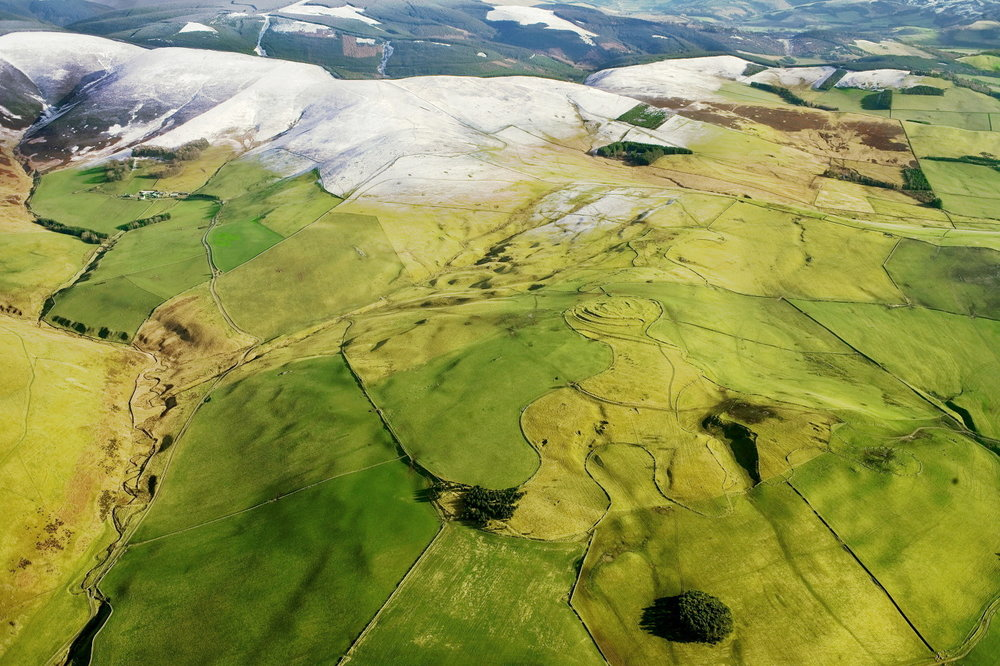 Hillfort, Scottish Borders