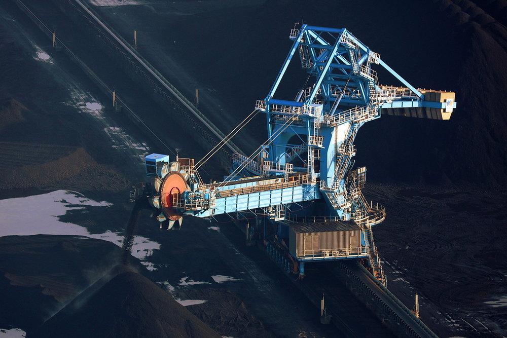Coal Transporter, Humber International Terminal