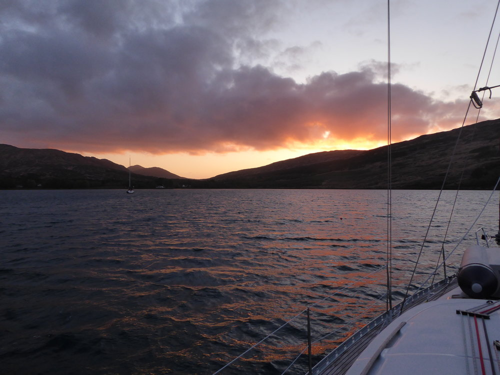 Sunset over  Rum.jpeg