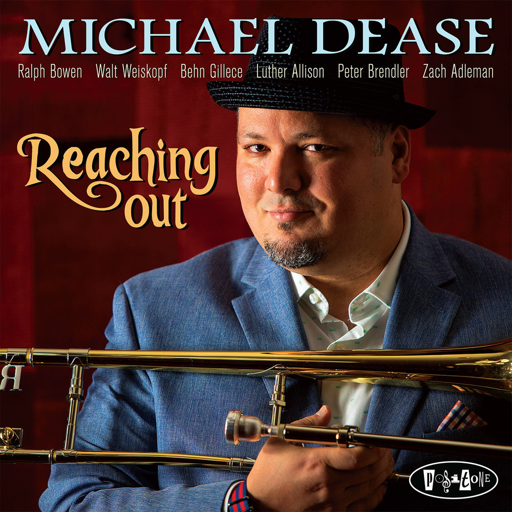 - Michael's 5th studio album for Posi-Tone Records, REACHING OUT is available for purchase. A mix of hard swinging, in the pocket grooves with saxophone masters Walt Weiskopf and Ralph Bowen, assisted by leading talents of the next generation Luther Allison, Peter Brendler and Zach Adleman.  Featuring guest vibraphonist Behn Gillece and tributes to several of Michael's influences: Cedar Walton, Kenny Drew, Steve Turre, Conrad Herwig, Boyz II Men, 90's alt rock, Malcolm Gladwell, Sir Paul McCartney and New York City.
