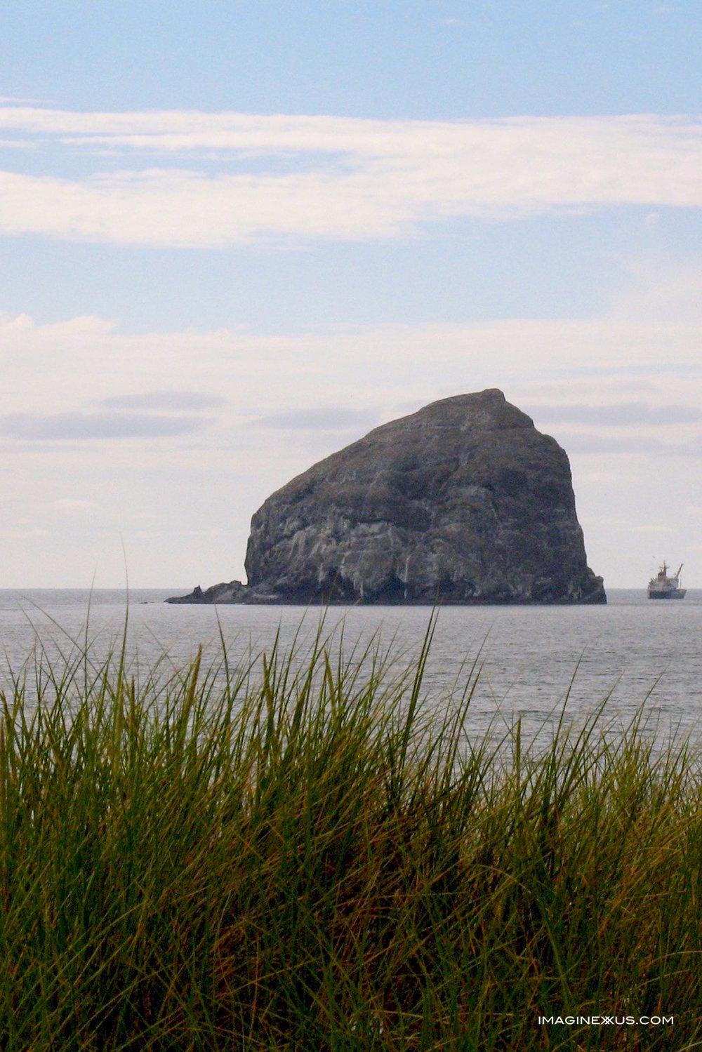 Oregon's Three Haystack Rocks
