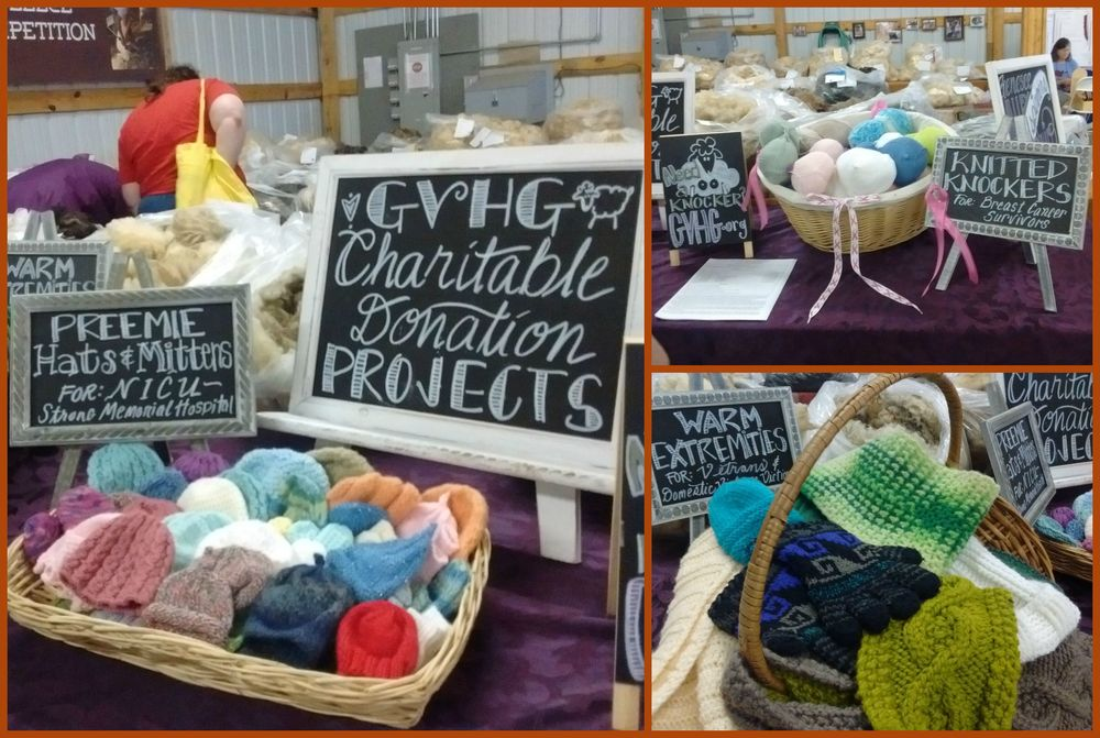 Genesee Valley Handspinners Guild Charitable Donation Projects