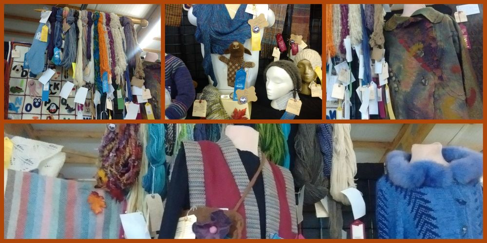 Finger Lakes Fiber Festival Skein and Garment Competition